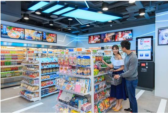 7 ELEVEN首家无人便利店 X Store 亮相台湾