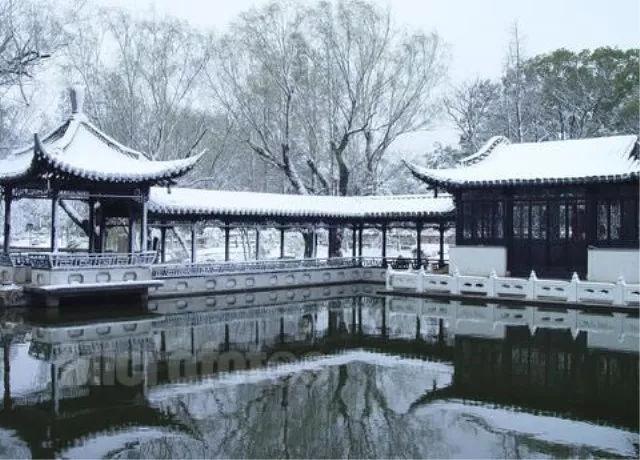 虽然说菱湖四时时令各有千秋,但是冬日的风景绝对不是其他法书什么高中风光好语图片
