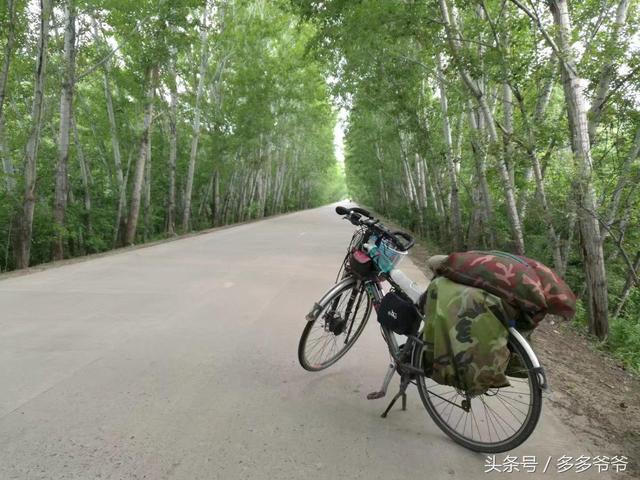 吴兴义:157天骑游路D34,密山市,虎林市,虎头要塞,乌苏里江起点