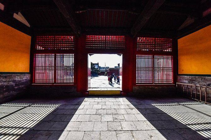 沈阳故宫,承载了满清历史的风风雨雨