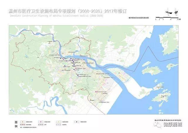 城市规划区综合医院规划图