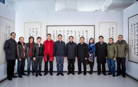 文心墨韵——徐福山诗词书法作品展在山东东营隆重开幕
