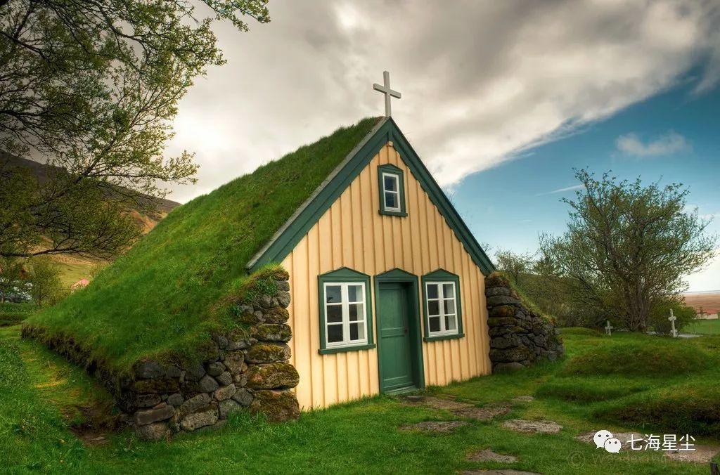 北欧之所以像童话,是因为这些独一无二的绿皮屋子