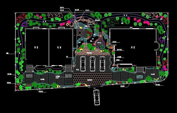 就让迅捷cad图库提供的39套别墅庭院私家花园景观设计cad平面图开启你