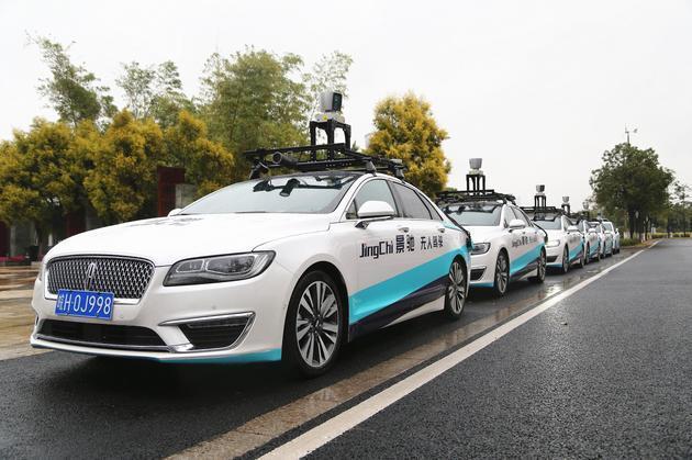 景驰科技在广州开启无人驾驶常态化试运营