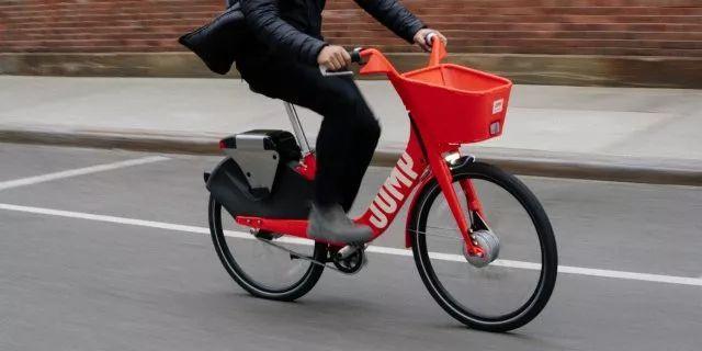 优步在美国推出电动自行车租赁服务