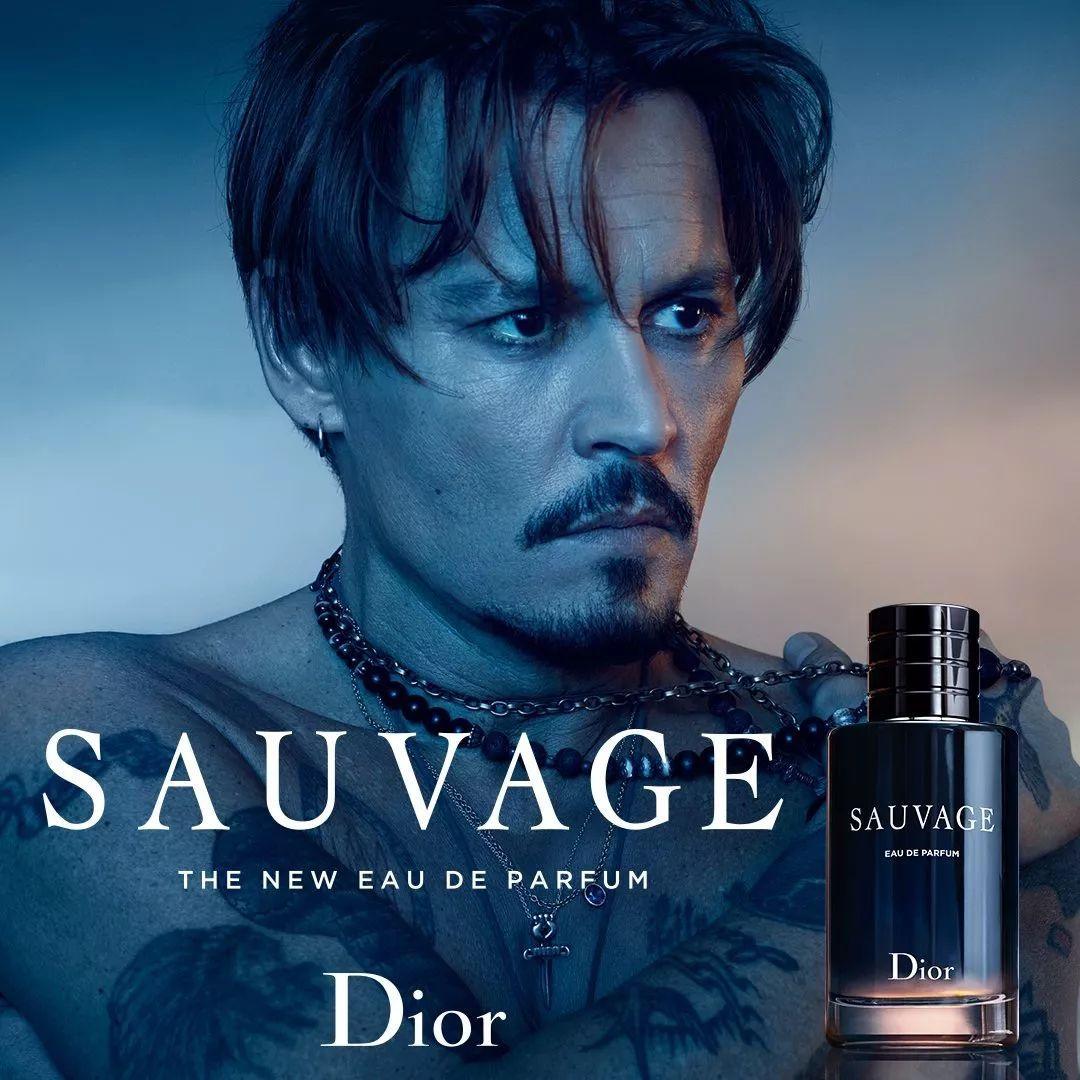 【信息汇总】德普代言dior sauvage香水广告