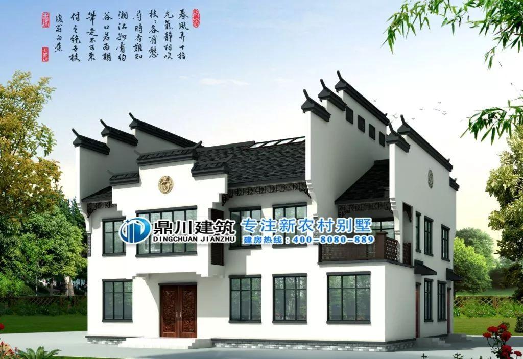 10款新中式农村别墅,自建雅宅,传世典范!