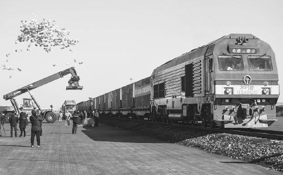 鐵水聯運大通道開通