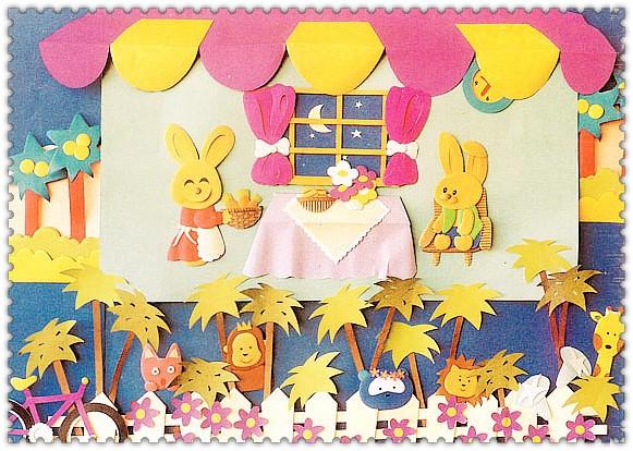 多款幼儿园主题墙手工环创,幼儿园开学必备