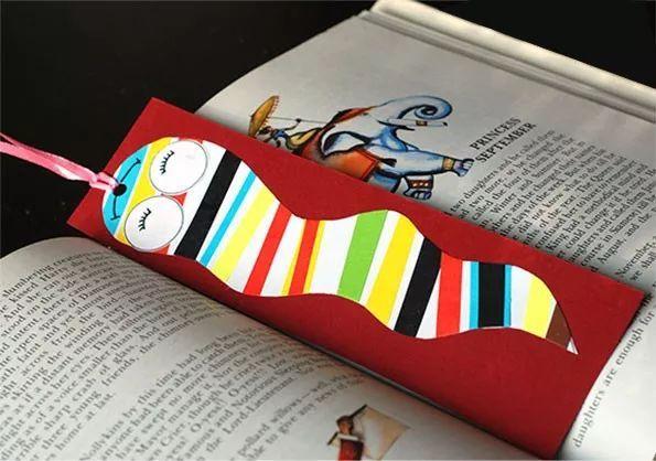 手工 爱阅读的小朋友怎么少得了一枚精致的书签呢