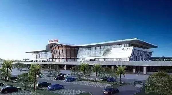 湛江高铁西站效果图图片