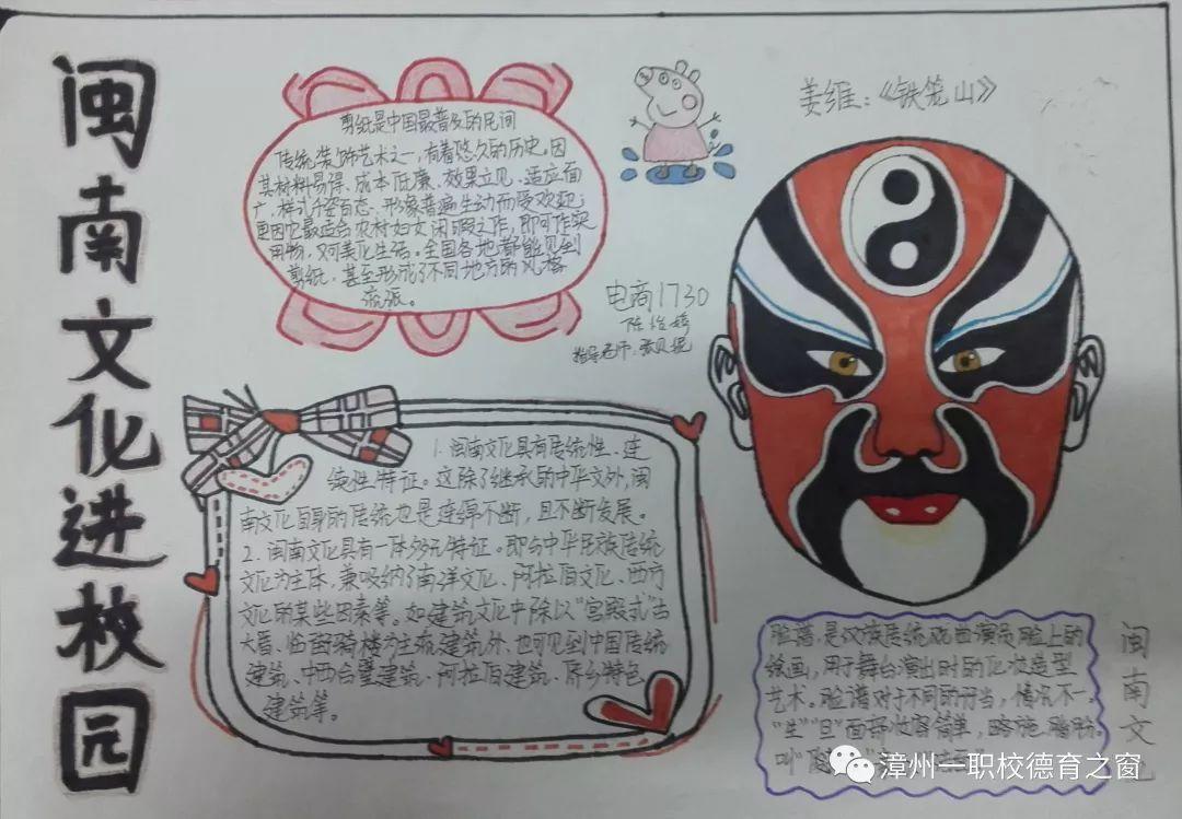 首页 宣传栏图片 文化继承闽南手抄报  关于闽南文化的手抄报,闽南