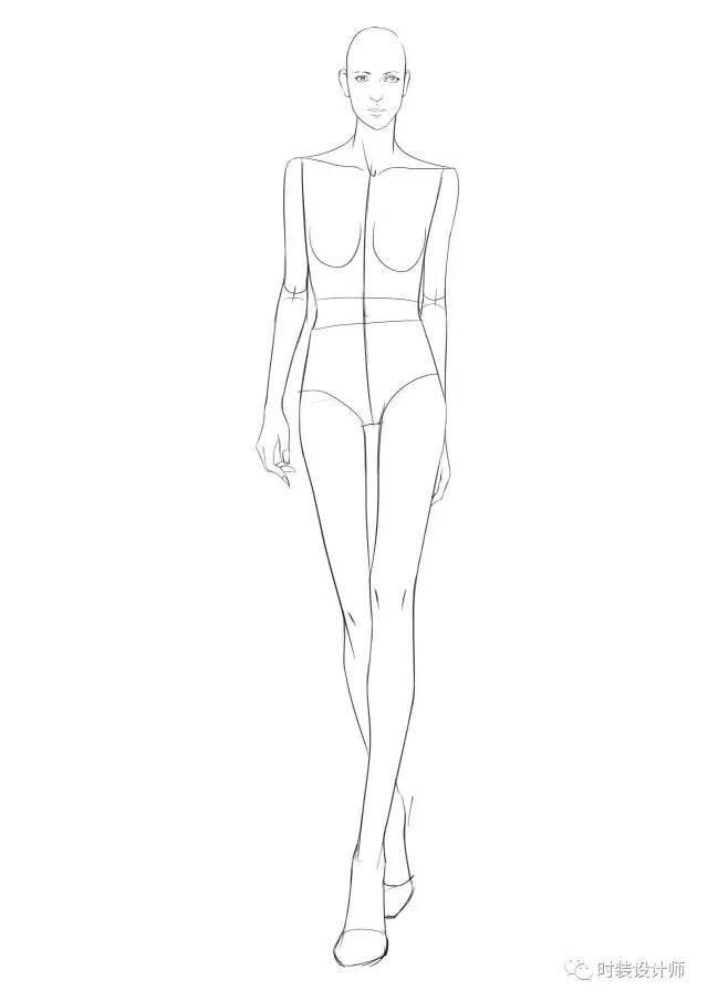 手绘干货 | 你真的懂服装效果图人体结构比例吗?