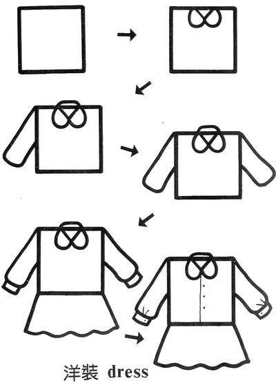 100幅创意正方形简笔画大全,给孩子全新的图形认知概念