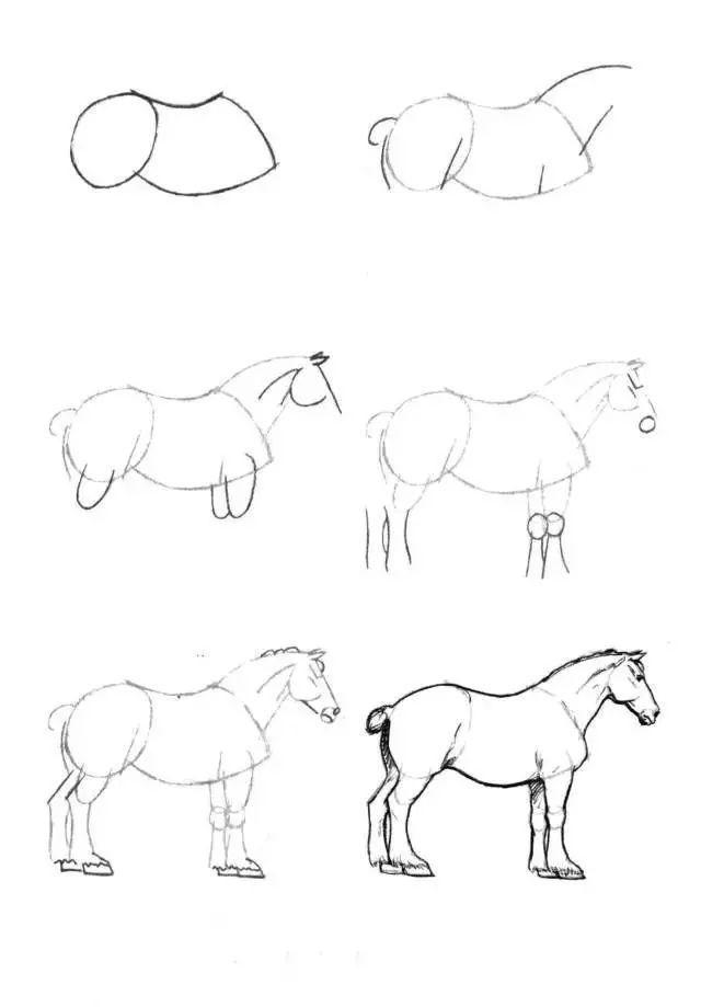实用的简笔画教程