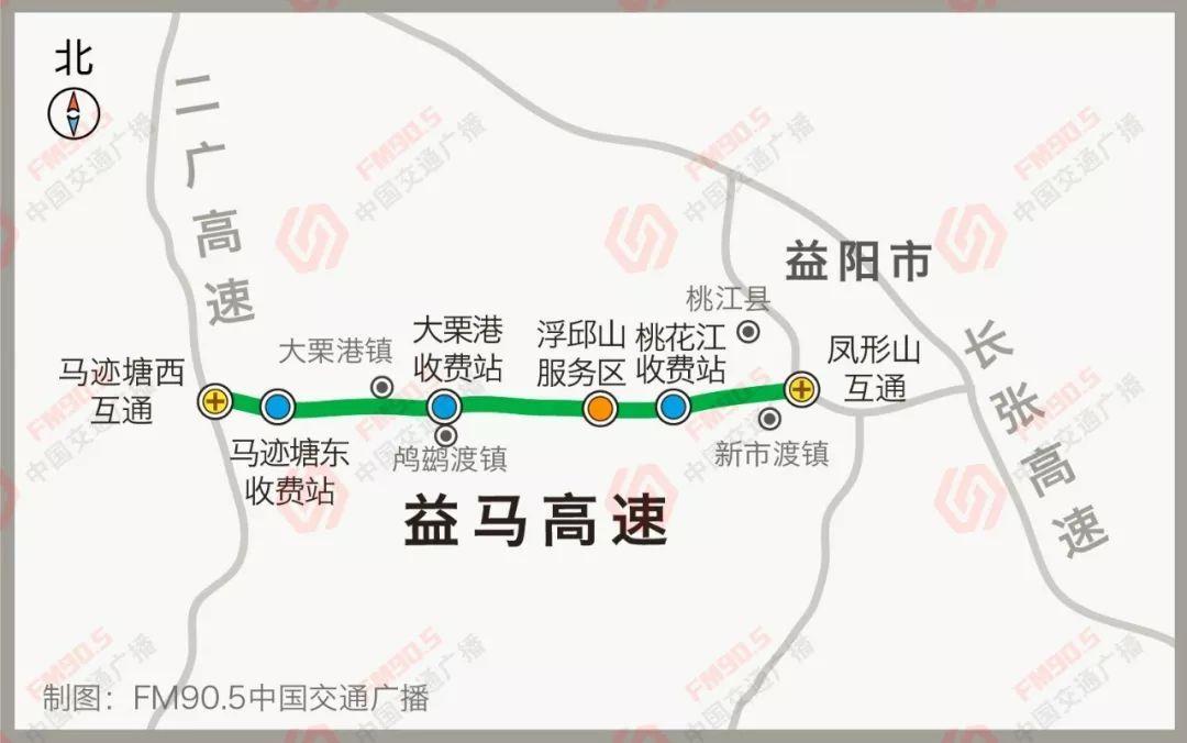 定了 益马高速于2月10日通车试运营