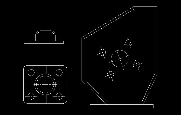 cad机械设计练习图纸 cad入门没有什么特别的捷径,说到底,了解并且