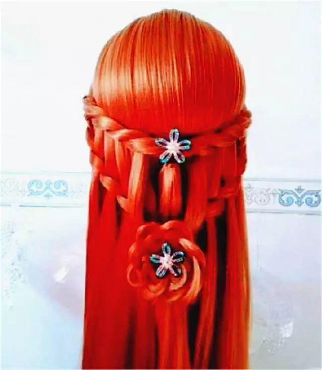 十二星座的公主发型,金牛座的也太美了,天秤座好幸运图片