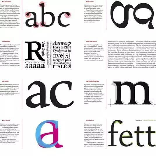 许多经典原则,例如字体设计原则图片