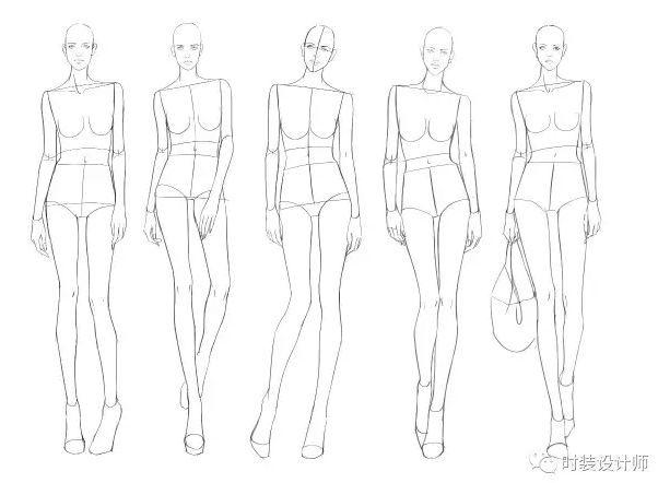 服装模特的身高较常人要高,女性身高理想要求是175--185cm,男性是185