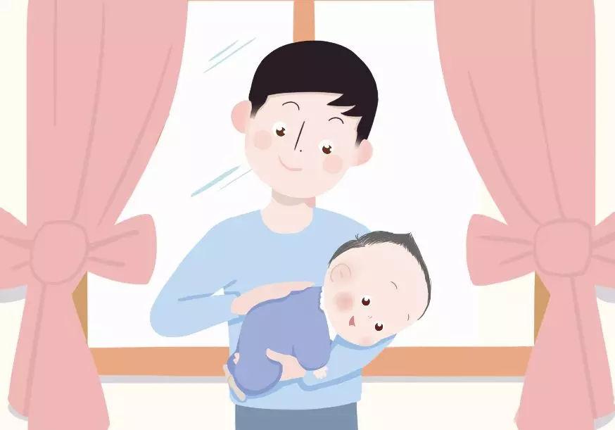 靠膝抱能让爸爸妈妈俯视宝宝,适合跟宝宝交流和互动时,当然得注意