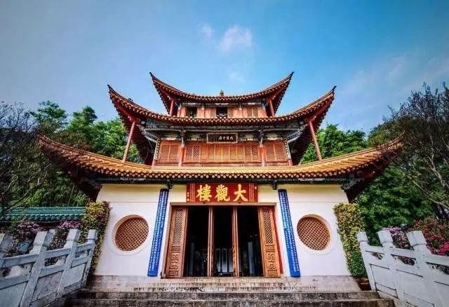 【文化西山】300年大观楼有6个传奇故事