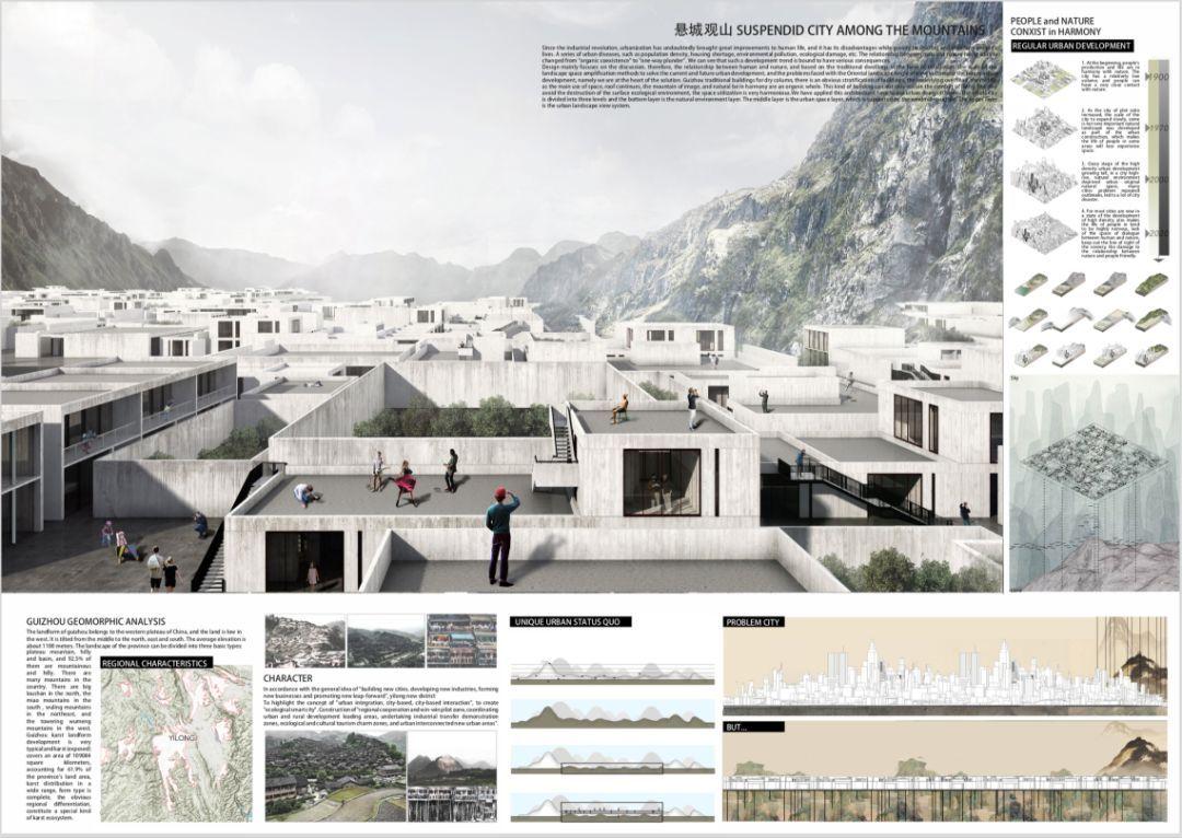 建筑竞赛图纸排版