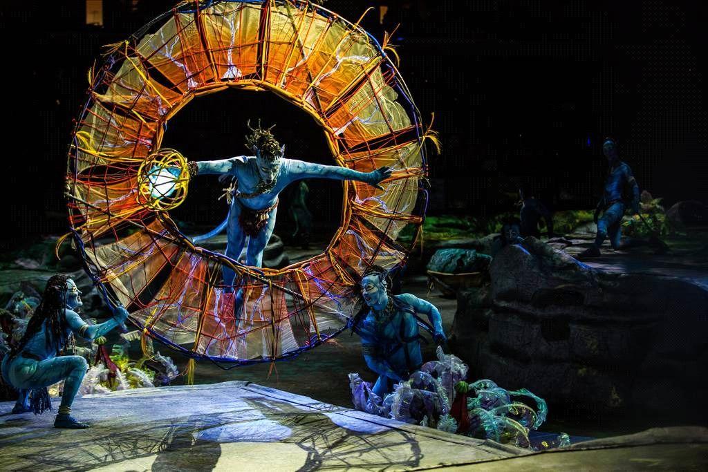 太阳马戏 阿凡达前传 三亚首演,一场史诗级的感官盛宴震撼来袭图片