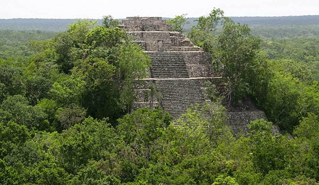 """激光3D扫描技术揭示了危地马拉丛林中隐藏的巨大玛雅""""城市群"""""""
