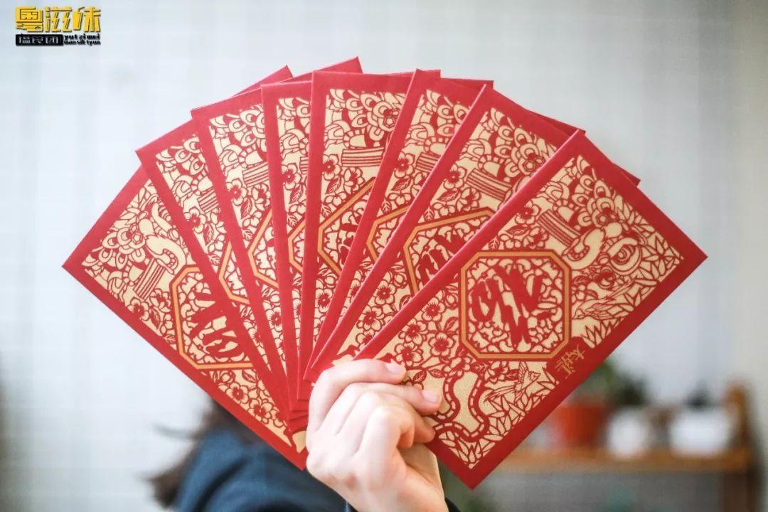 广州太古汇推出限量全手工制作利是封, 以精致剪纸的形式呈现, 方寸