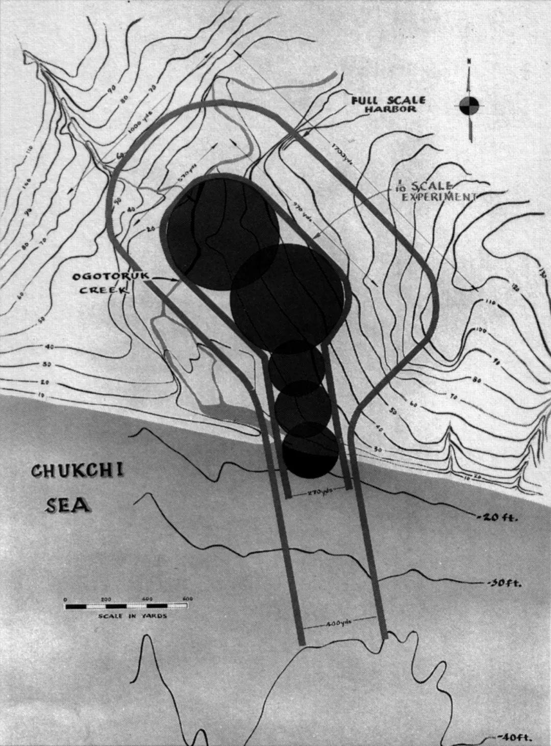 美国人曾计划用五次热核爆炸在阿拉斯加造港口
