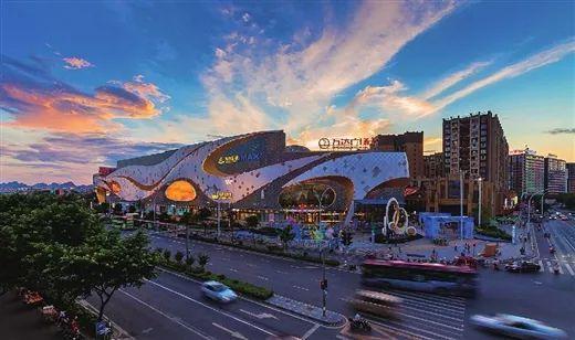 安厦时代天悦,恒大广场,梦之岛百货,王城商厦,百货大楼…… 未来,桂林图片