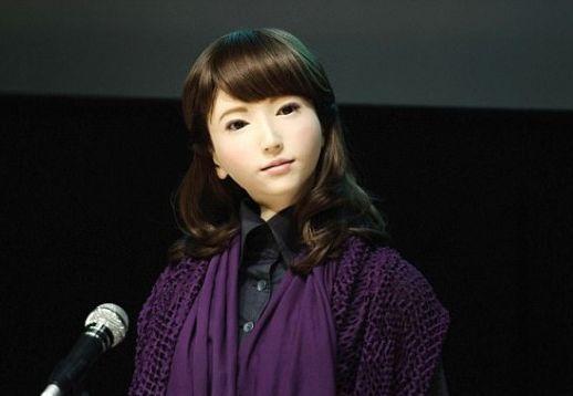 """日本机器人之父石黑浩造""""人""""将出任电视新闻主播!"""
