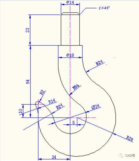 cad新手教程:一步一步教你画cad图纸
