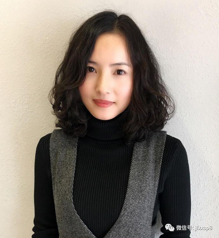 """2018流行""""齐烫发""""_搜狐时尚_搜狐网"""