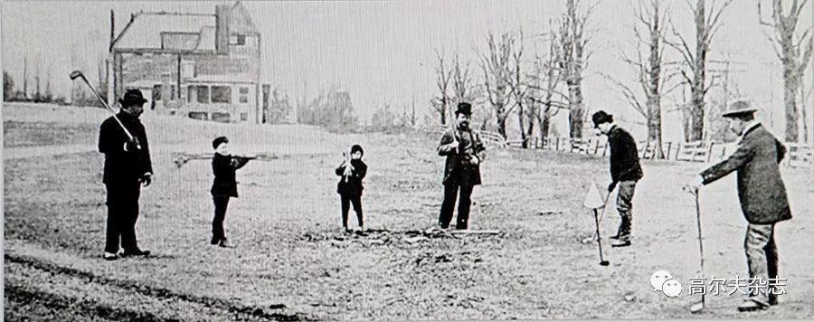 美国高尔夫起源和专利球杆
