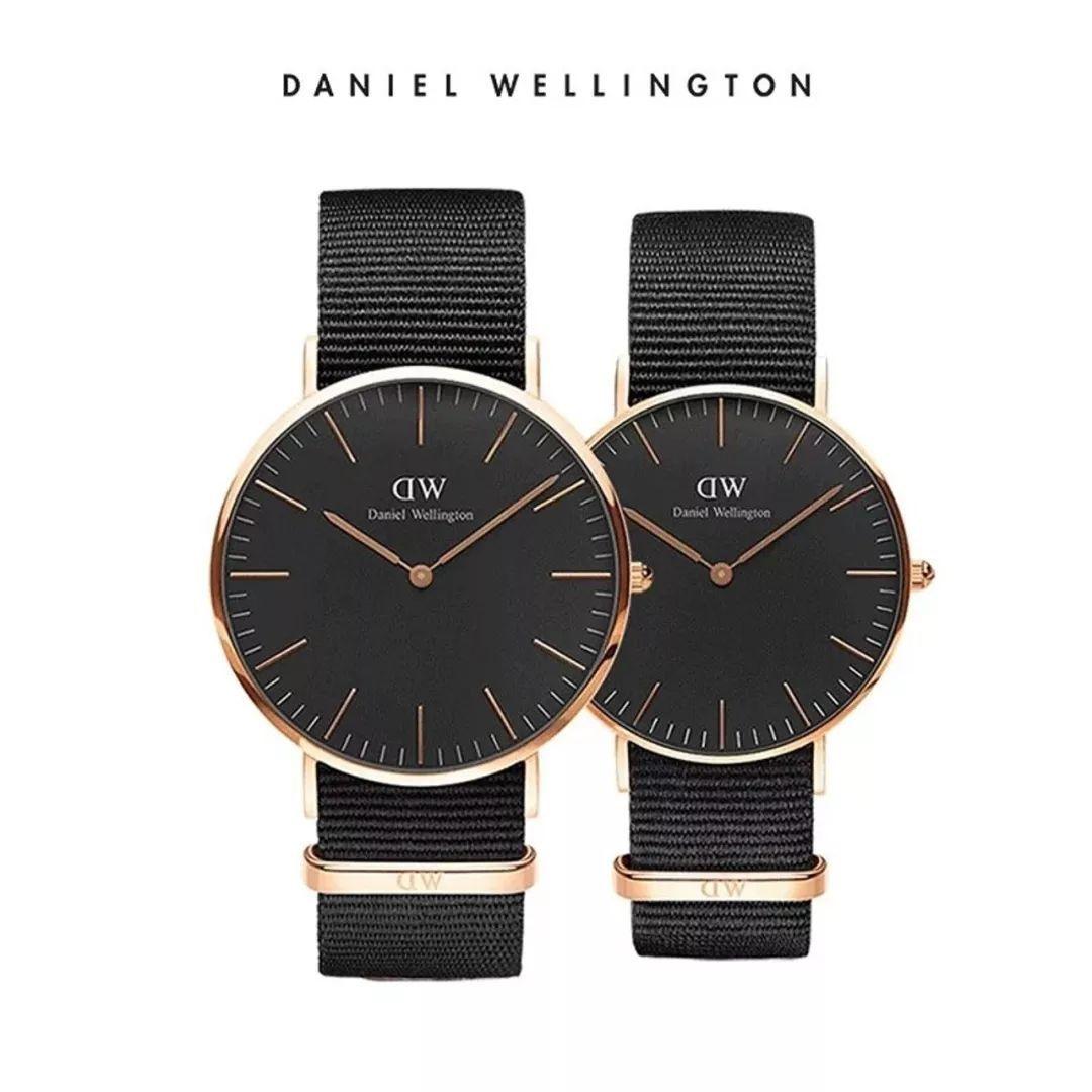 danielwellington 丹尼尔惠灵顿 情侣对表