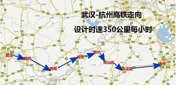 黄梅县城区规划图
