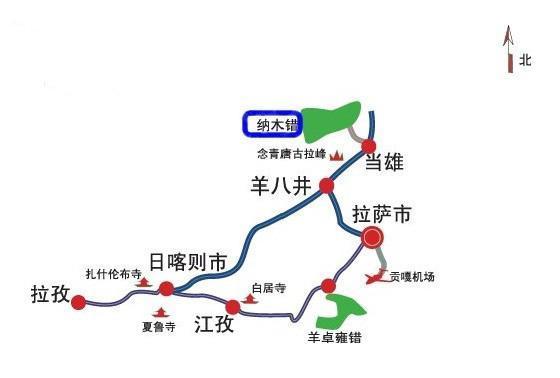 西藏旅游地图大全游戏,详细到各地区各兄弟,奔跑你的分享的攻略方便景点吧3图片