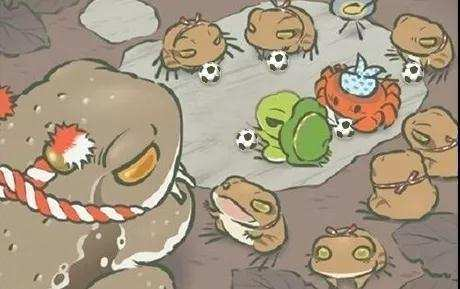 你的蛙VS别人的蛙, 不禁发出了来自灵魂的拷问