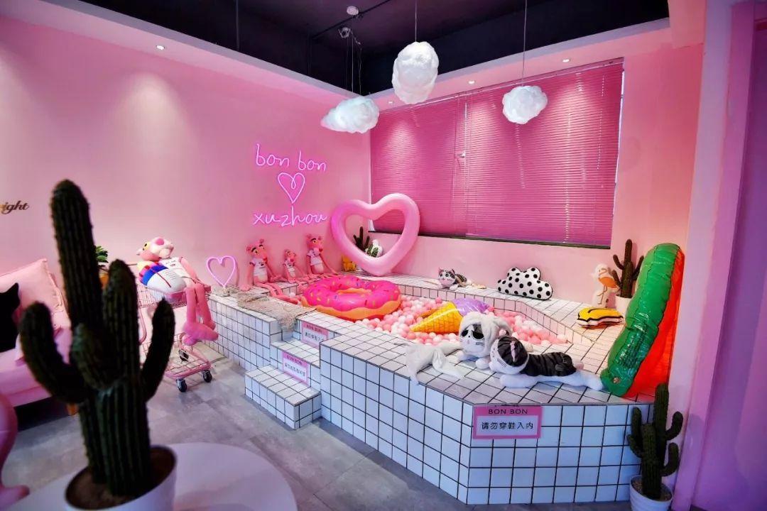 潮爆ins的大片粉色店来徐州啦!一大师粉红豹,火烈鸟直撩你的甜品心!素描少女v大片图片