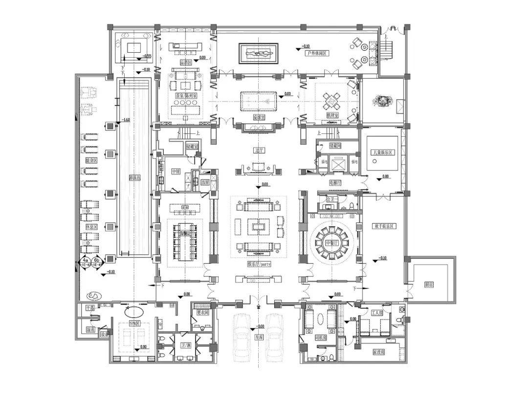 永寿宫内部平面图