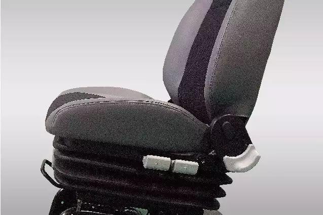 气囊式座椅的减震元件可根据人体自身体重调节,可前后,高低,全方位图片