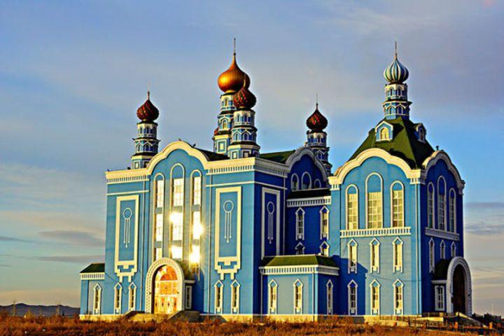 △俄罗斯风情建筑
