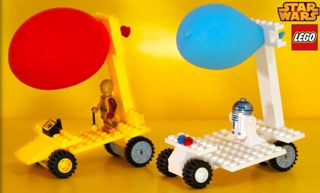 乐高空气动力车图片