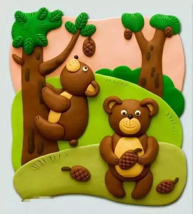 【橡皮泥手工】幼儿园橡皮泥手工制作,含步骤!