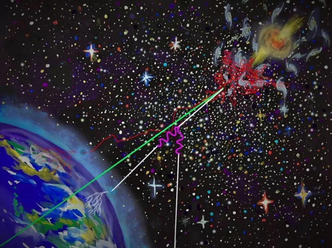中微子9abz`'n_逃离的高能射线与agn周围的环境相互作用,产生了高能中微子和伽玛射线