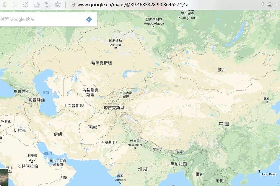 卫星地图模式