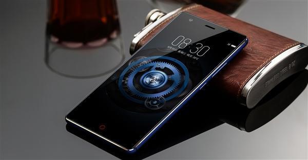 努比亚异形全面屏渲染图偷跑:神似Essential Phone